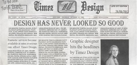 graphics design articles good graphic design has bags of character timez design