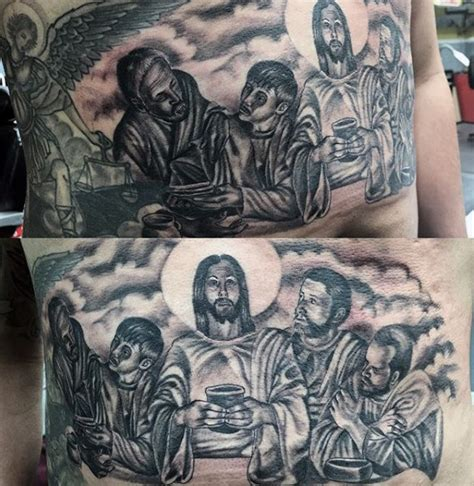 holy tattoos designs 40 last supper designs for christian ink ideas