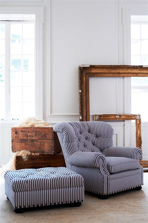 tufted chair and ottoman best 25 blue fabric ideas on pinterest summer blues