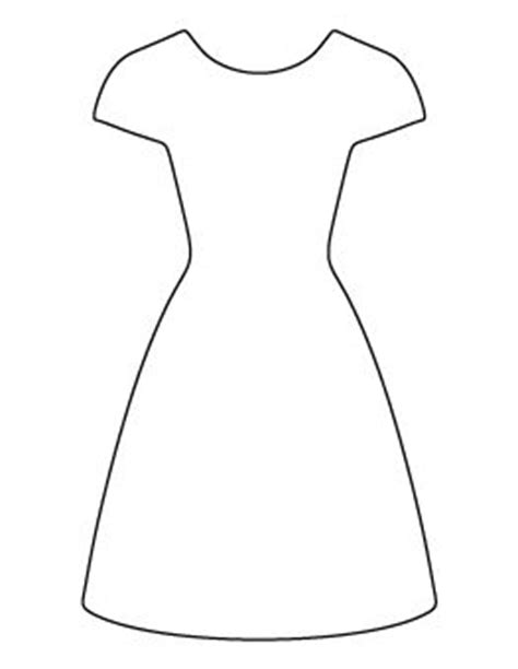 dress pattern outline 389 best images about clip art clothes clipart on