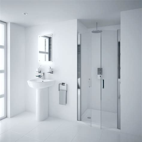 Hinged Shower Doors Uk Portland 800mm Hinged Shower Door 6mm