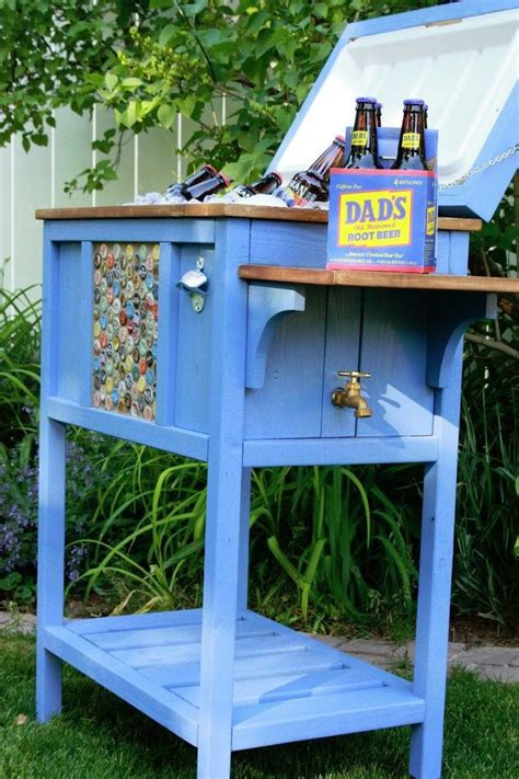 25 best ideas about cooler stand on pallet