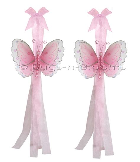 pink curtain tie backs butterfly tieback pink multi layered nylon butterflies