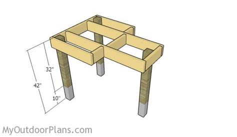 shooting bench dimensions free shooting bench plans myoutdoorplans free woodworking plans and projects diy