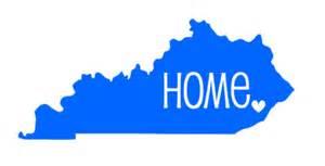 kentucky home kentucky car decal sticker home car decal sticker south