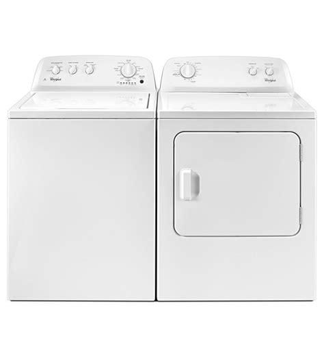 how is a washer and dryer laundry washer wtw4616fw and dryer wed4616fw pair