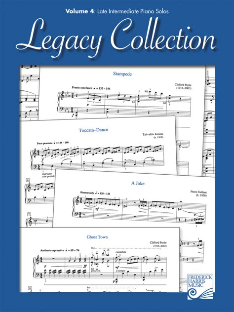 frederick harris company legacy collection volume 3