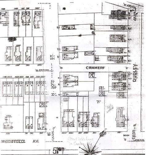 Camden Streets Dudley Street Antique House Plans By Dudley Newton