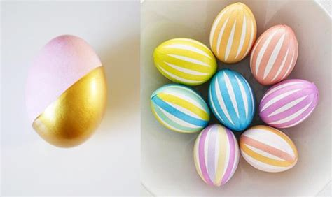 como decorar huevos de pascuas caseros ideas para decorar huevos para pascua paperblog