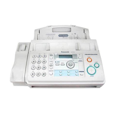 Tinta Fax Panasonic Kx Fp701 jual panasonic facsimile kx fp701cx mesin fax kx fp701