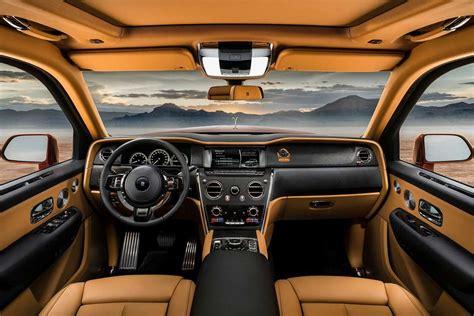 rolls royce cullinan suv interior  autobics