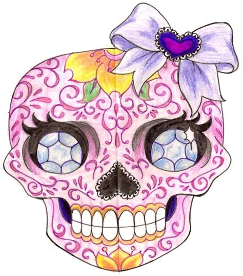 feminine sugar skull tattoo designs modification tattoos