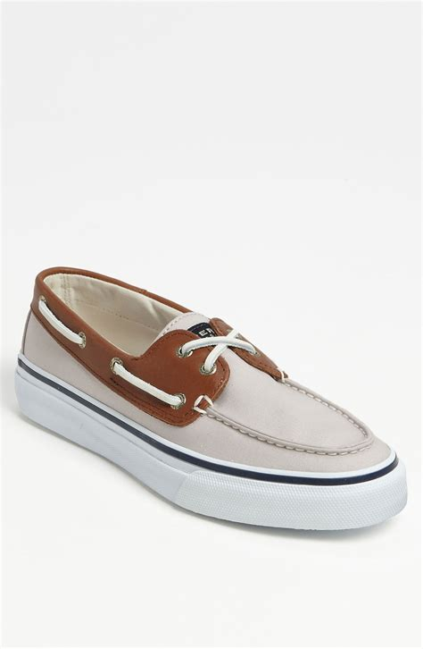 sperry canvas bahama boat shoes sperry top sider sperry bahama 2 eye canvas leather boat