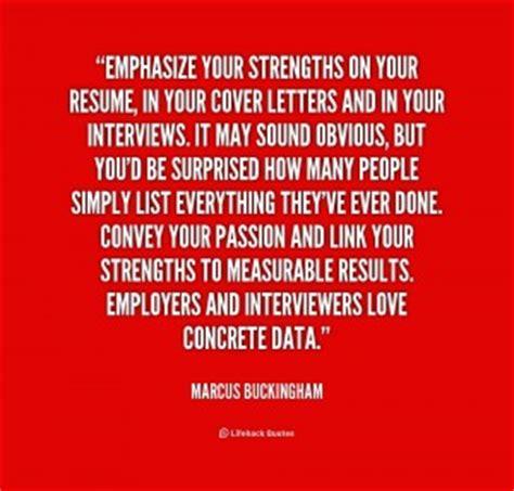 Resume Writing Quotes Buckingham Quotes Quotesgram