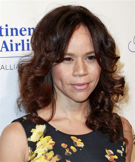 rosie perez hair rosie perez long curly formal hairstyle