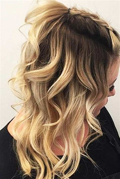 nive and easy hairstyle pics 27 easy cute hairstyles for medium hair medium hair