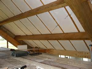 insulating the vaulted ceiling flickr photo