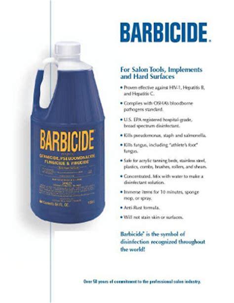 Printable Barbicide Label   nail spa june 2008