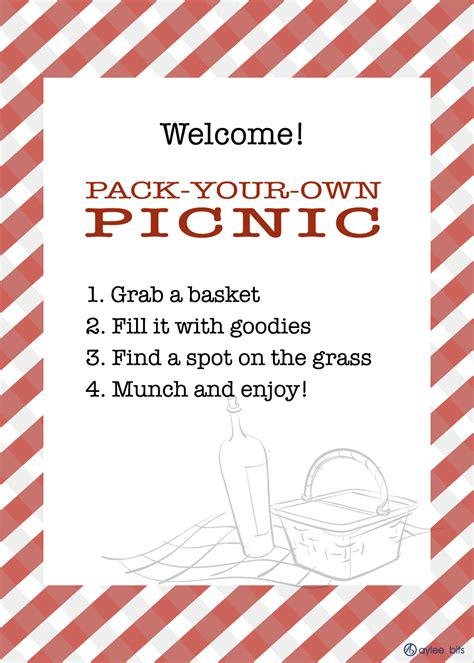 picnic invitation template family picnic aylee bits