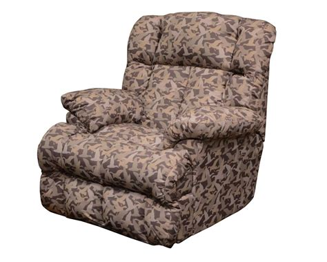 duck dynasty recliner catnapper duck dynasty cedar creek power lay flat recliner
