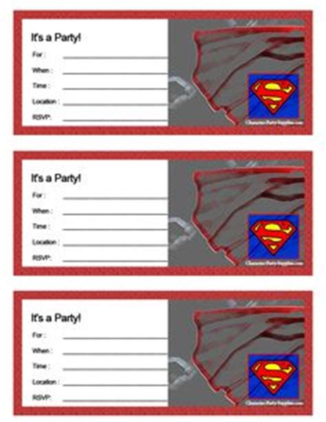 superman powers card template printable superman name tags superheroes