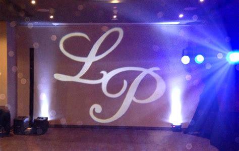 Monogram Lighting by Adelaide Wedding Lighting Uplighting Monogram Lighting
