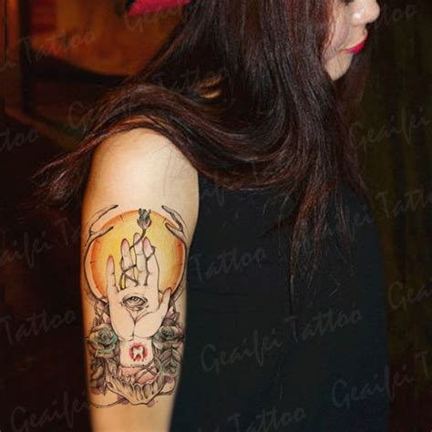 tattoo angel eyes 25 best ideas about large temporary tattoos on pinterest