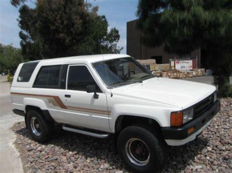 1984 Toyota 4runner Buy Used 1984 Toyota 4runner Original 137k With A