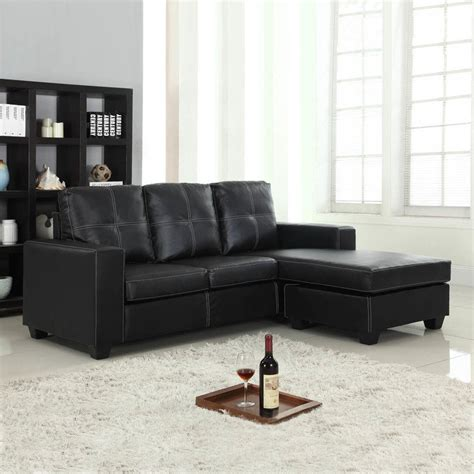 white leather recliner lounge suite pu leather lounge suite with chaise lounge in black buy