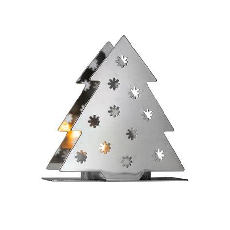 2 way christmas tea light holders aspen and brown