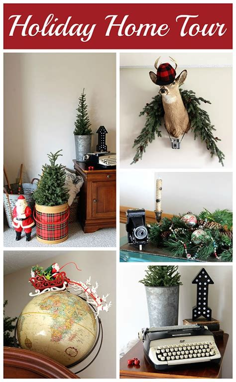 holiday house design ideas a vintage rustic industrial holiday house tour house of hawthornes