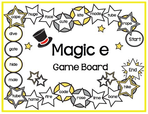magic e pattern activities for teaching the magic e rule make take teach