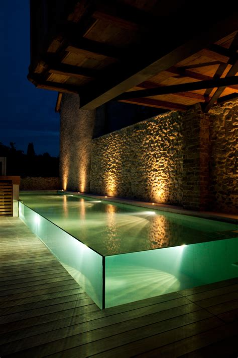 Glass And Concrete House excelsior glass swimming pool swimming pools from