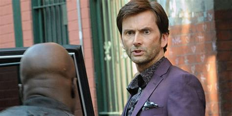 david tennant purple suit david tennant s purple man gets into your head in this new