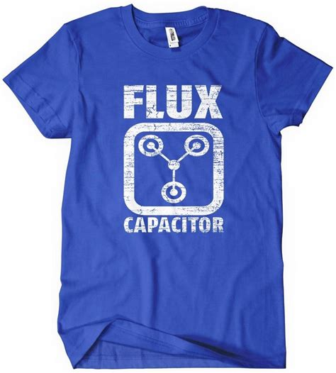 flux capacitor light up t shirt flux capacitor t shirt back to the future textual tees