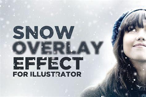 color overlay illustrator snowy overlay effect for illustrator 2bundles