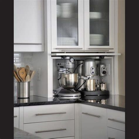 kitchen cabinet appliance garage 1000 ideas about appliance garage on pinterest