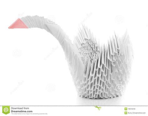 Origami Schwan - origami schwan stockfoto bild folgen nachrichten