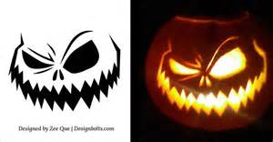 10 free printable scary pumpkin carving patterns 10 free printable scary pumpkin carving patterns