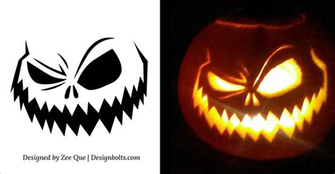 printable pumpkin stencils free scary 10 free printable scary halloween pumpkin carving patterns