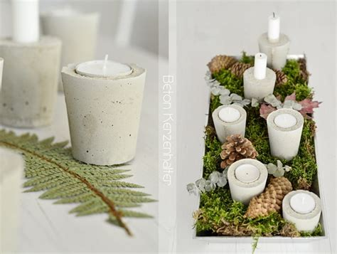 Kerzenhalter Beton by Nachmachtipp Beton Kerzenhalter Sinnenrausch Der