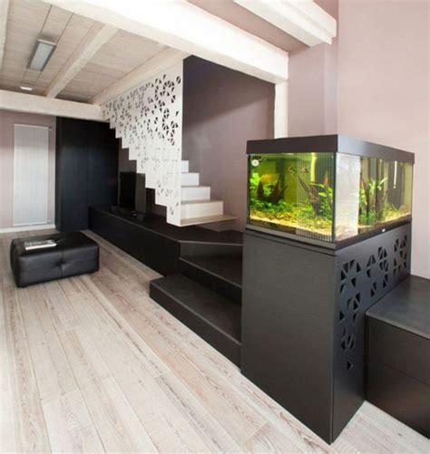 Salon Avec Escalier by Aquarium Integrer Salon Escalier Dar D 233 Co D 233 Coration