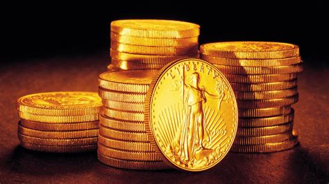 wallpaper of gold coins coin gold wallpaper high resolution 664962 10959