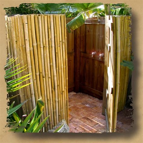 outdoor bamboo shower outdoor shower enclosure bamboo shower congok i