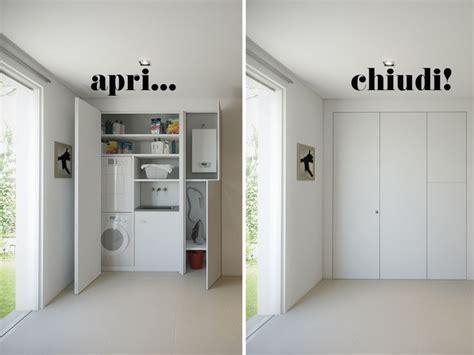 armadio parete le 25 migliori idee su armadio lavanderia su