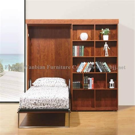 hidden murphy bed bookcase wall unit gs5012 wall bed sliding bookcases murphy bed hidden bed