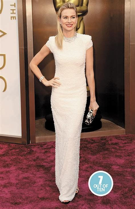 Cvc Dress Elsa White code oscars fashion rankings who was and who was