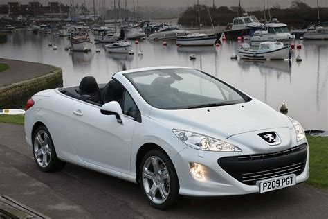 peugeot convertible peugeot has added a new engine to the 308 coupe cabriolet