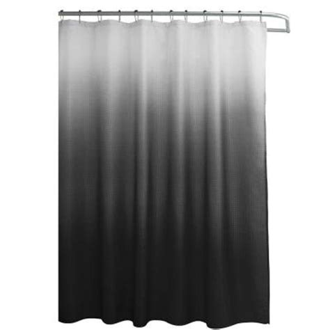 Roller Shower Curtain Rings Ideas Creative Home Ideas Ombre Waffle Weave 70 In W X 72 In L