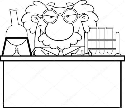 imagenes quimica blanco y negro blanco y negro cient 237 fico loco o profesor en el